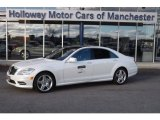 2013 Diamond White Metallic Mercedes-Benz S 550 4Matic Sedan #74624697