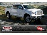 2013 Super White Toyota Tundra Platinum CrewMax 4x4 #74684095