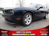 2013 Jazz Blue Pearl Dodge Challenger SXT #74684283