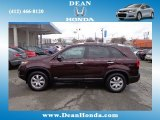 2011 Dark Cherry Kia Sorento LX AWD #74684579