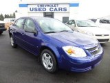 2007 Laser Blue Metallic Chevrolet Cobalt LS Sedan #74684792