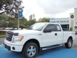 2010 Oxford White Ford F150 STX SuperCab 4x4 #74684243