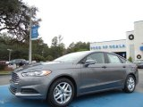 2013 Sterling Gray Metallic Ford Fusion SE #74684225