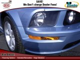 2005 Windveil Blue Metallic Ford Mustang GT Deluxe Coupe #74684644