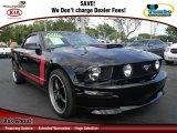 2005 Black Ford Mustang V6 Premium Convertible #74684638