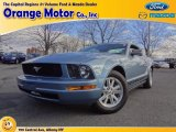 2006 Windveil Blue Metallic Ford Mustang V6 Deluxe Coupe #74684333