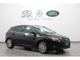2012 Tuxedo Black Metallic Ford Focus Titanium 5-Door #74684634