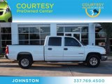 2003 Summit White Chevrolet Silverado 1500 LS Crew Cab #74684211