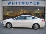 2013 White Platinum Metallic Tri-coat Ford Fusion SE #74684516
