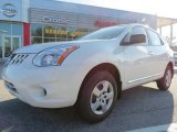 2013 Pearl White Nissan Rogue S #74732612