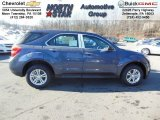 2013 Atlantis Blue Metallic Chevrolet Equinox LS AWD #74732491