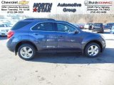 2013 Atlantis Blue Metallic Chevrolet Equinox LT AWD #74732484