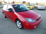 2004 Infra-Red Ford Focus ZX3 Coupe #74732945