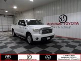 2007 Super White Toyota Tundra Limited Double Cab #74732334