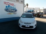 2013 Oxford White Ford Fiesta S Sedan #74732318