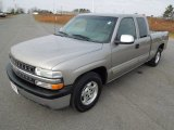 2000 Light Pewter Metallic Chevrolet Silverado 1500 LS Extended Cab #74732787