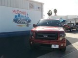 2013 Ruby Red Metallic Ford F150 FX4 SuperCrew 4x4 #74732306