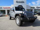 2013 Billet Silver Metallic Jeep Wrangler Unlimited Sport S 4x4 #74732536