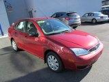 2005 Ford Focus Sangria Red Metallic