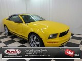 2005 Screaming Yellow Ford Mustang V6 Premium Convertible #74732745