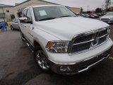 2011 Bright White Dodge Ram 1500 Laramie Crew Cab #74732627