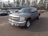 2013 Graystone Metallic Chevrolet Silverado 1500 LT Crew Cab 4x4 #74787105