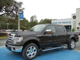 2013 Kodiak Brown Metallic Ford F150 Lariat SuperCrew 4x4 #74786671