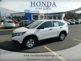 2013 White Diamond Pearl Honda CR-V LX #74786936