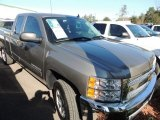 2012 Graystone Metallic Chevrolet Silverado 1500 LT Extended Cab #74786908