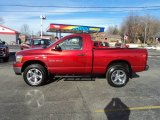 2006 Inferno Red Crystal Pearl Dodge Ram 1500 SLT Regular Cab 4x4 #74787041
