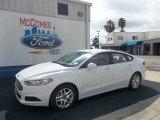 2013 Oxford White Ford Fusion SE #74786607
