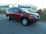 2011 Spicy Red Kia Sorento LX #74787033