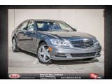 2013 Palladium Silver Metallic Mercedes-Benz S 550 Sedan #74786449