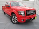 2011 Race Red Ford F150 FX2 SuperCab #74786853