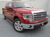 2013 Ruby Red Metallic Ford F150 Lariat SuperCrew #74786850