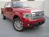 2013 Ruby Red Metallic Ford F150 Platinum SuperCrew 4x4 #74786848