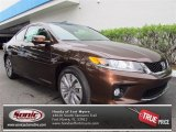 2013 Tiger Eye Pearl Honda Accord EX-L Coupe #74786416