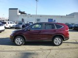 2013 Basque Red Pearl II Honda CR-V EX AWD #74787151