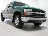 2000 Meadow Green Metallic Chevrolet Silverado 1500 LS Extended Cab 4x4 #74786987