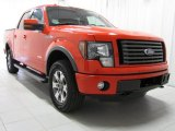 2011 Race Red Ford F150 FX4 SuperCrew 4x4 #74786985