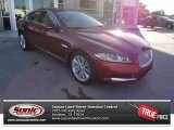 2013 Carnelian Red Metallic Jaguar XF I4 T #74787122