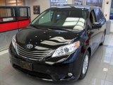 2012 Black Toyota Sienna XLE #74850720