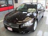 2010 Crimson Black Nissan Maxima 3.5 SV Sport #74850718