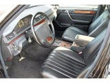 1995 Mercedes-Benz E 300D Sedan Black Interior