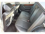 1995 Mercedes-Benz E 300D Sedan Rear Seat