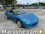 2008 Jetstream Blue Metallic Chevrolet Corvette Coupe #74850709