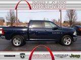 2012 True Blue Pearl Dodge Ram 1500 Big Horn Crew Cab 4x4 #74850603