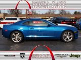 2010 Aqua Blue Metallic Chevrolet Camaro SS/RS Coupe #74850602