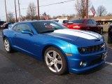 2010 Chevrolet Camaro Aqua Blue Metallic