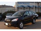 2009 Crystal Black Pearl Honda CR-V LX 4WD #74850779